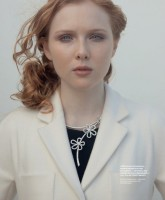 "Molly Quinn для журнала ""InStyle"" Russia"