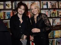 """Хелена Бонэм Картер. Презентация приложения """"The Love Book"""" в Daunts Books, Лондон."""