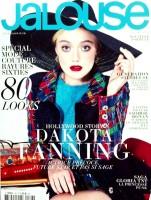 Дакота на обложке мартовского номера французского издания журнала «Jalouse».