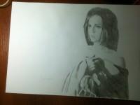 Нарисованая фанами Кейт