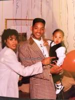 Уилл Смит с первой женой Шири Зампино и их сыном - Треем (2 фото)