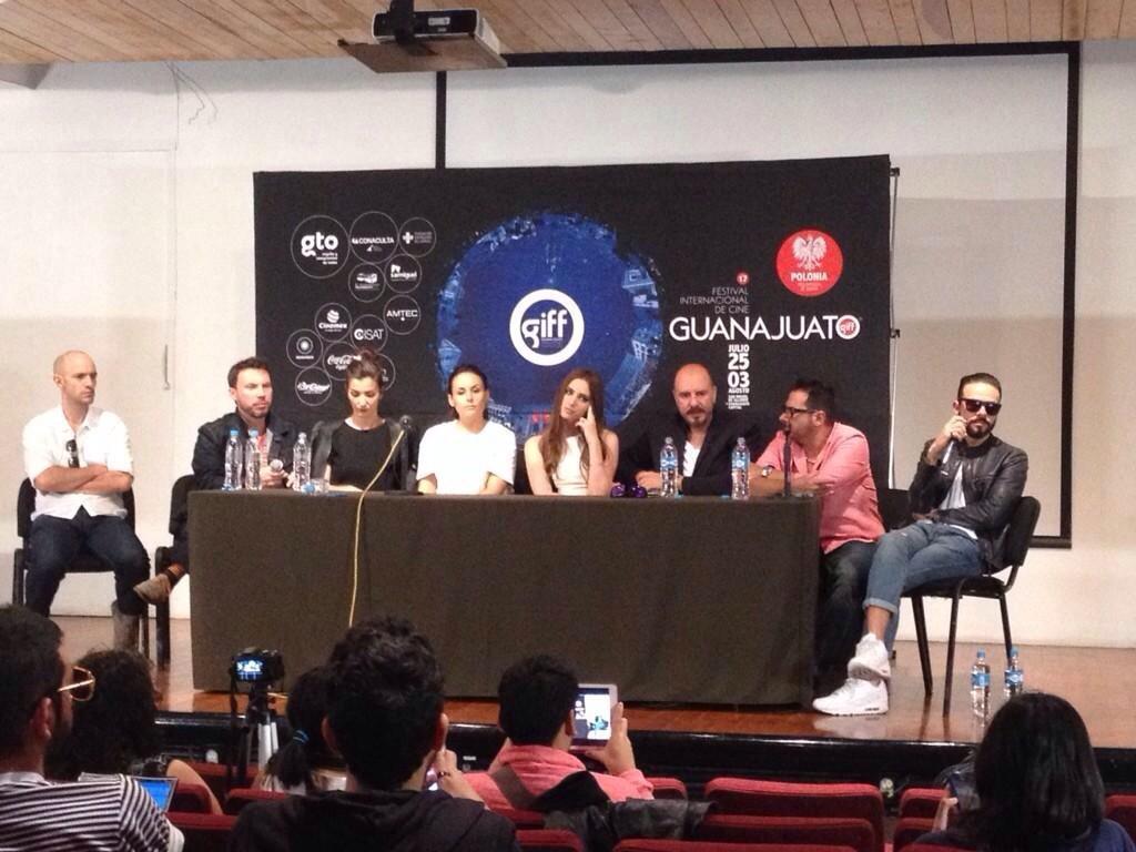 Cурия Вега. Пресс-конференция фильма «Темнее ночи» на GIFF.