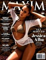 """Джессика Альба в журнале """"Maxim"""" (сентябрь 2014)"""