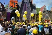 Despicable Me Minion Mayhem Ride открытие в Юниверсал Студиос Голливуд