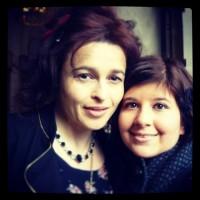 Новое фото Хелены с поклонницей