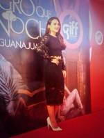 Фото с мировой премьеры фильма «Темнее ночи» на международном кинофестивале в Гуанахуато.