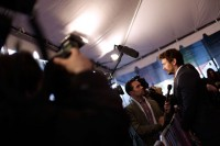 Джеймс Франко. Джеймс представил новый фильм «The Director» на TriBeCa Film Festival 21 апреля