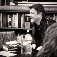 30 января 2014 Шон Бин в Лондон-сити читал выдержки из книги Fat Chancer by Richard Old