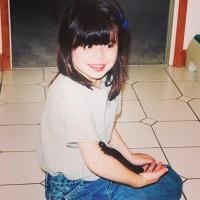 Недавно Миранда поделилась своими детскими фотографиями в своём аккаунте