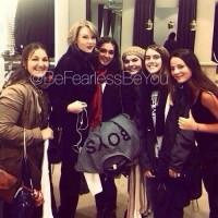Тейлор с фанатами в магазине H&M, Лондон.