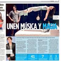 Статья о съемках клипа «Bajemos la guardia».
