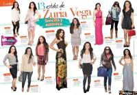 Скан журнала «TVyNovelas», посвященный стилю Сурии.