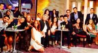 Каст сериала «Какие же они богатые, эти бедные» на шоу «Hoy».