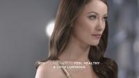 Оливия Уайлд. Скринкапсы нового рекламного ролика коллекции красок для волос «Luxurious ColorSilk»