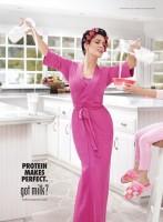 Сальма Хайек стала лицом рекламной кампании «Got Milk?».
