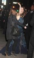 Джессика Бил. Джессика покидает вечеринку Tiffany & Co в Нью-Йорке (18 апреля 2013)
