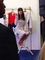 Зоуи Дешанель. Старт продажи коллекции в Macy's  - Нью-Йорк, 14 Апреля, 2014