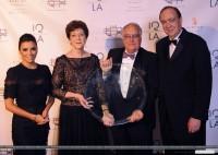 Ева Лонгория. 10 декабря 2013 - Ева Лонгория на INTERNATIONAL QUALITY OF LIFE AWARDS