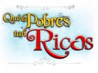 Официальный логотип теленовеллы «Какие же они богатые, эти бедные»