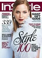 Дженнифер на декабрьской обложке журнала InStyle