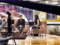 Зури, Хайме и Марк на передаче «Primero Noticias».