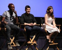 Зоуи Дешанель. 2014 FOX Upfronts - New Girl' Season 3 Finale Screening And Cast - 8 Мая, Лос-Анджелес