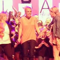 Бритни Спирс. 1 июня - Бритни посетила танцевальное выступление племянницы Мэдди в Хаммонде, Луизиана