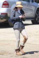 Зоуи Дешанель. На лошадином ранчо - Лос-Анджелес, 24 Апреля