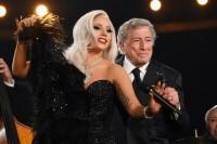 Леди Гага на премии Грэмми, 8 февраля 2015 года.