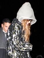 Бейонсе Ноулз. #Jayonce прибыли в ресторан «Nobu», Нью-Йорк