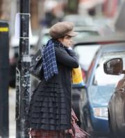Хелена Бонэм Картер.  Хелена в Лондоне 5 ноября