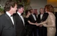 """Хелена Бонэм Картер. Королевская премьера """"Гамлета"""", 1991 год"""