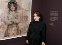 Хелена Бонэм Картер. Выставка Джонатана Йео в Национальной Галерее