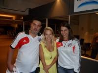 Луисана на матче River Plate