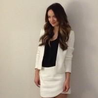 Оливия Уайлд. Фото с пресс-конференции приуроченной к запуску новой коллекции одежды компании Bo.Bô.