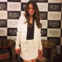 Фото с пресс-конференции приуроченной к запуску новой коллекции одежды компании Bo.Bô.