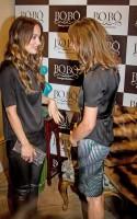 Оливия посетила открытие нового магазина Bo.Bô в Сан-Паулу