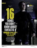 """16 фактов, которые вы не знали о """"Фантастической четверке"""""""