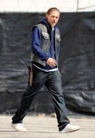 """Чарли Ханнэм. Новые фотографии со съемок сериала """"Сыны анархии"""""""