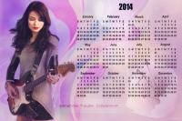 в ожидании новостей,вот вам милый календарик;)