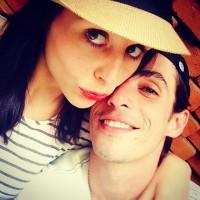 Милые Сурия и Альберто поделились новым фото в Instagram'e.