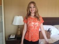 Новое личное фото мисс Лоуренс
