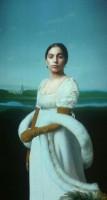 Картины с Леди Гагой в Лувре.