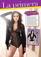 Скан журнала, в котором использовано фото из фотосессии для «SoHo» в полном размере.