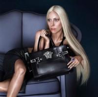 Фотосессия Леди Гаги для весенней коллекции «Versace».