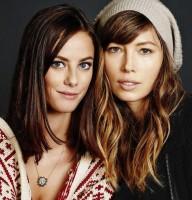 Джессика и Кайя в фотосессии для Unknown (2013)