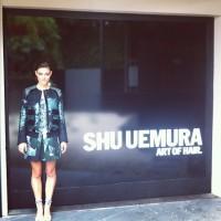 Фиби Тонкин. Фиби приняла участие в торжественном открытии магазина Shuuemura