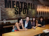 @peterfacinelli & Jaimie At Sugar Factory & Meatball Spot