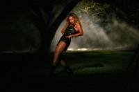Фото со съёмок клипа «Deja Vu»
