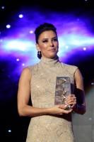 Ева Лонгория приняла участие в Global Gift Gala, Марбелье, Испания.
